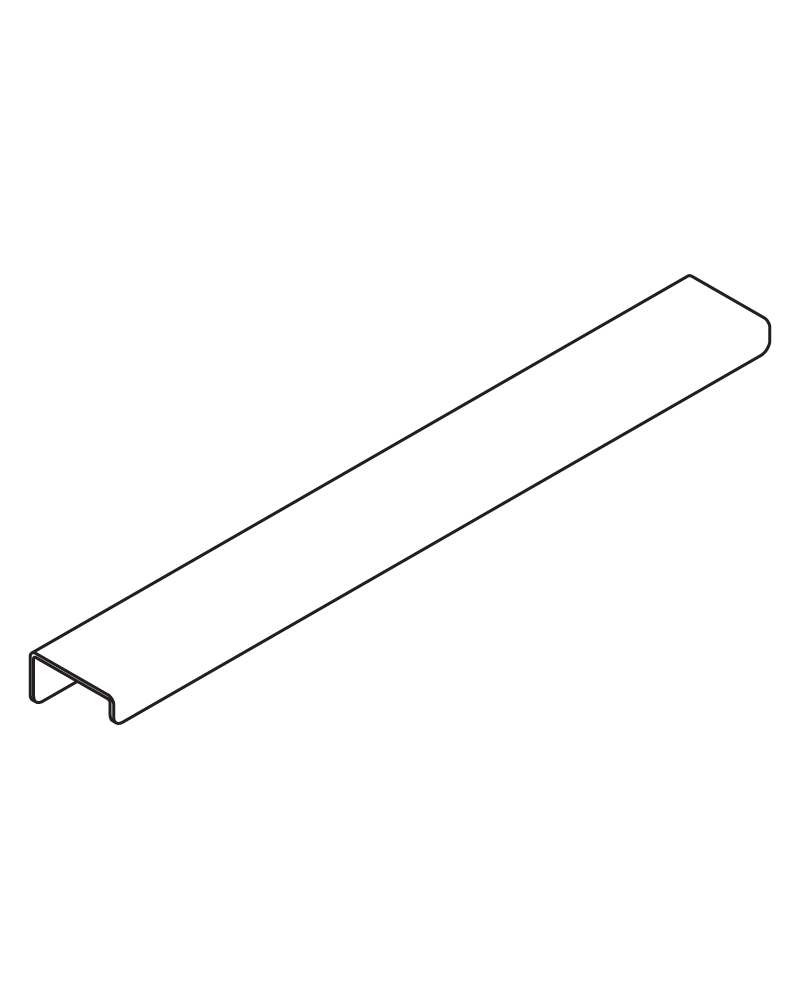 J Pull Xl Joinery Lip Pull For Joinery Doors And Drawers